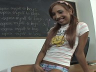 Vidéo porno mobile : Cute student fucked by the groundskeeper